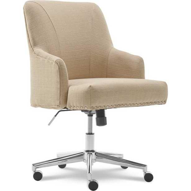Serta Leighton Task Chair - Beige - Wayfair