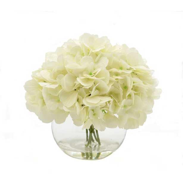 White Hydrangea Floral Arrangements - Wayfair
