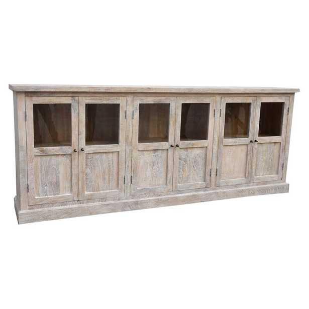Virpi 96'' Wide Mango Wood Sideboard - Wayfair