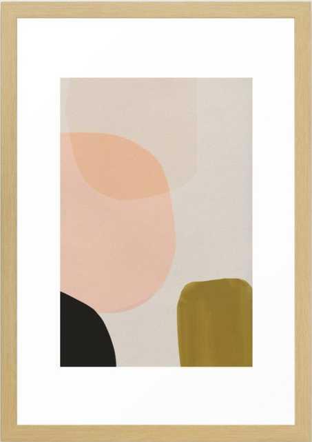 "Gloop Framed Art Print - Small - 15"" X 21"" - Society6"