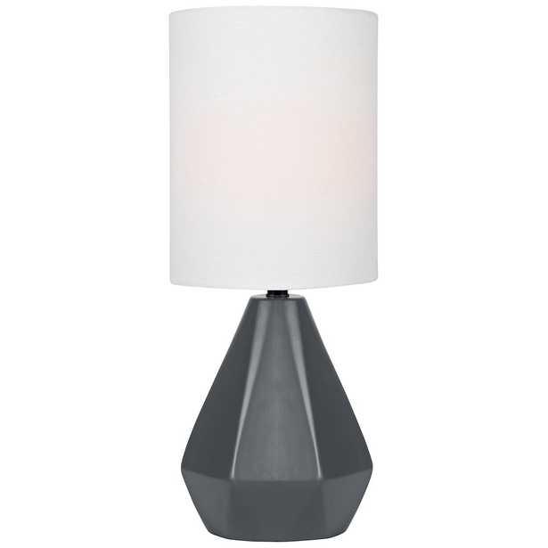 """Lite Source Mason 17""""H Jet Black Ceramic Accent Table Lamp - Style # 56J76 - Lamps Plus"""