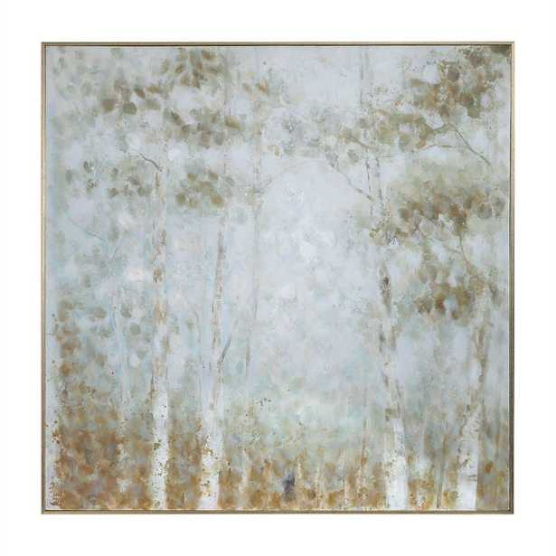 Cotton Woods Hand Painted Canvas - Hudsonhill Foundry