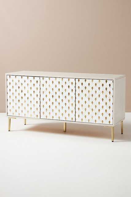 Perla Mother-of-Pearl Inlay Buffet - Anthropologie