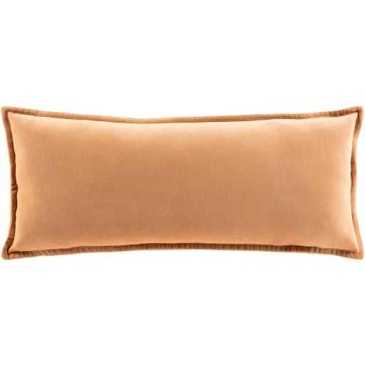 "Gabrielle Pillow Cover, 12""x 30"", Camel - Roam Common"