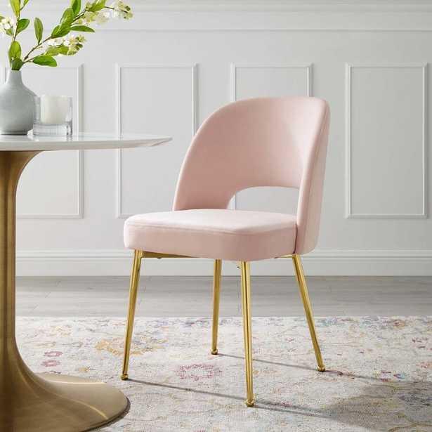 Hallsburg Upholstered Dining Chair RESTOCK Aug 16, 2021. - Wayfair