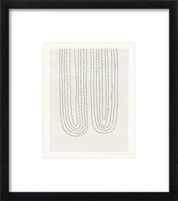 Two Loops by Emma Lawrenson for Artfully Walls - Artfully Walls
