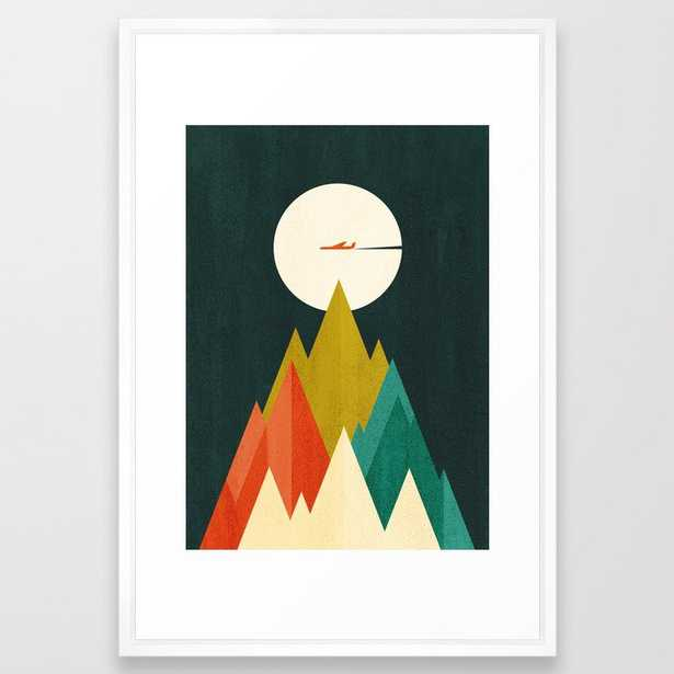 Life is a travel Framed Art Print - Society6
