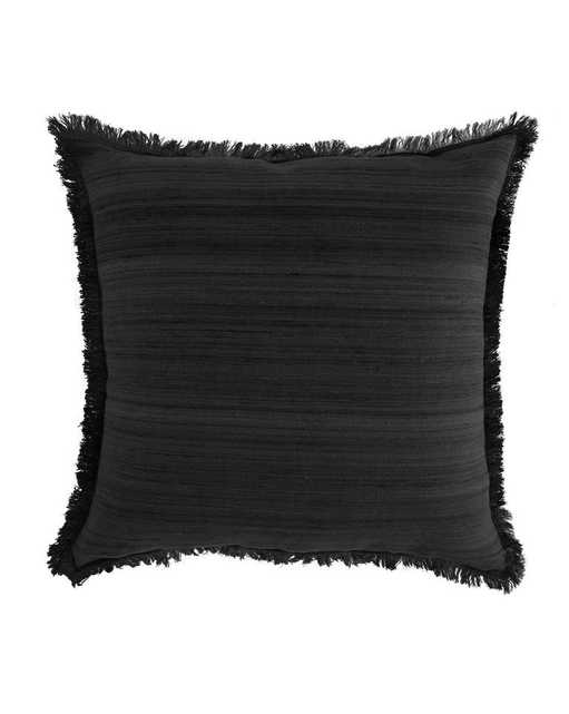 ABBEY SILK FRINGE PILLOW COVER - McGee & Co.