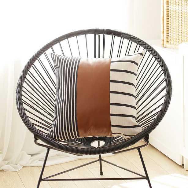 """Dorian Decorative Geometric 17"""" Throw Pillow Cover - Wayfair"""