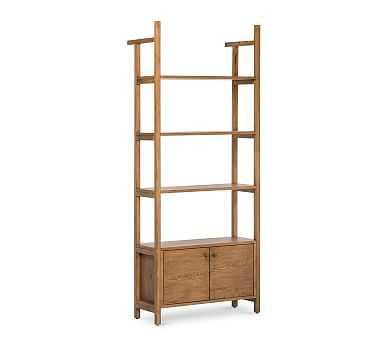 Genona Cabinet Bookcase - Pottery Barn