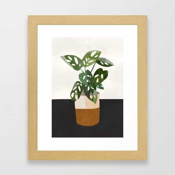 Plant 11 Framed Art Print - Society6