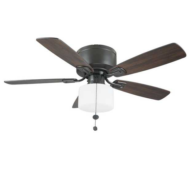 Bellina 42 in. Oil-Rubbed Bronze Ceiling Fan with LED Light Kit - Home Depot