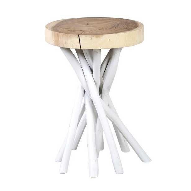 Harte Solid Wood Pedestal End Table - Wayfair