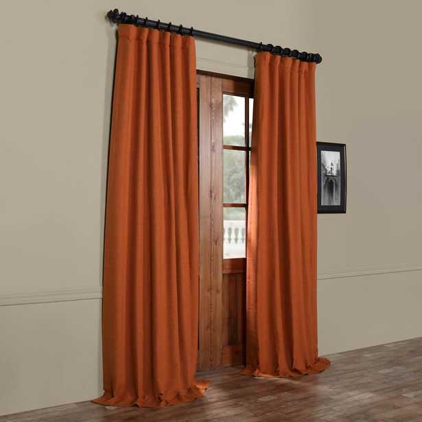 Freemansburg Room Darkening Rod Pocket Single Curtain Panel - Wayfair