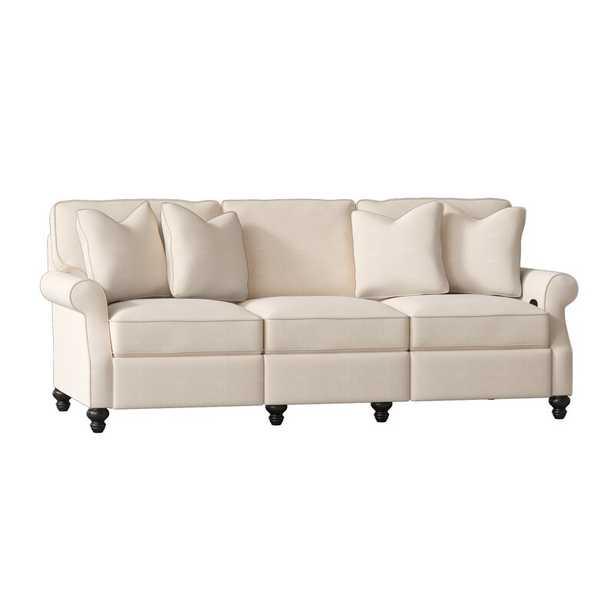"Doug Reclining 91"" Rolled Arm Sofa - Wayfair"