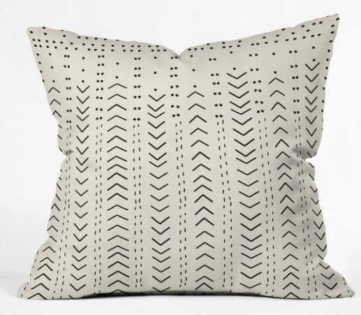 Iveta Abolina Mud Cloth Inspo VIII Throw Pillow WITH INSERT - Wander Print Co.