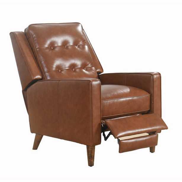Hendren Genuine Leather Manual Recliner - Wayfair
