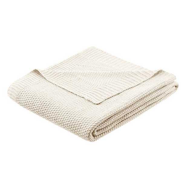 Elliott Acrylic Throw Blanket - Wayfair
