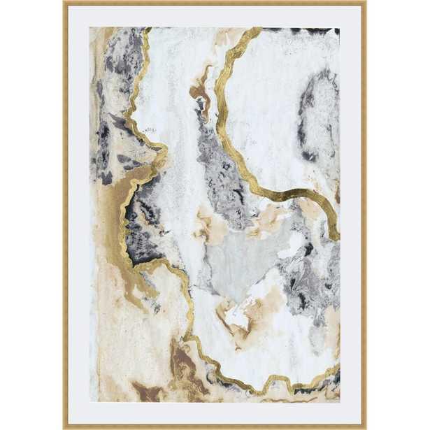 'Cinder and Smoke I' Framed Print - Wayfair