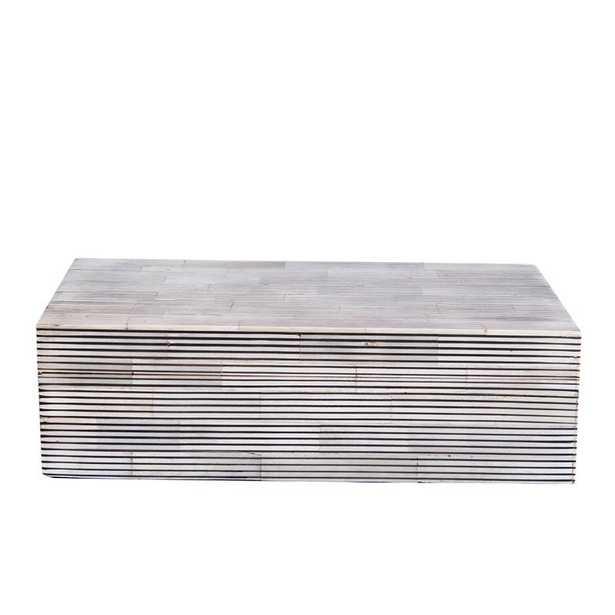 RECTANGLE STRIPE BOX - SMALL - McGee & Co.