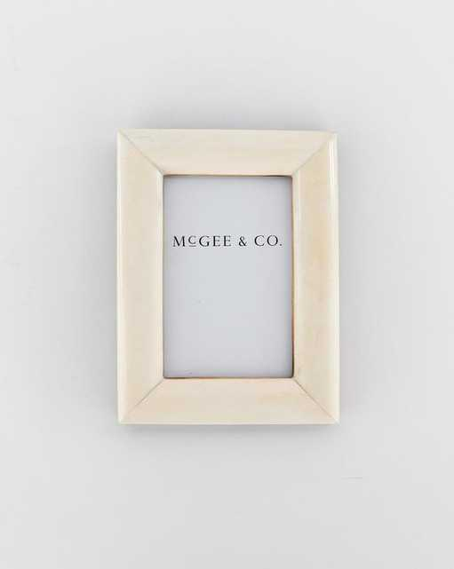 Rounded Bone Frame 4x6 - McGee & Co.