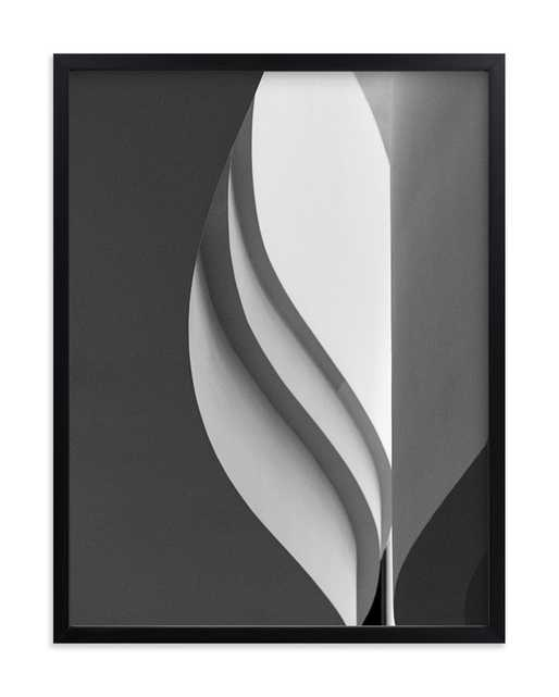 Tulip- Black and White - Minted