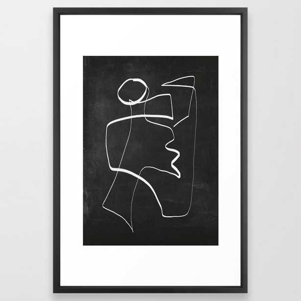 Abstract line art 6/2 Art Print - Society6