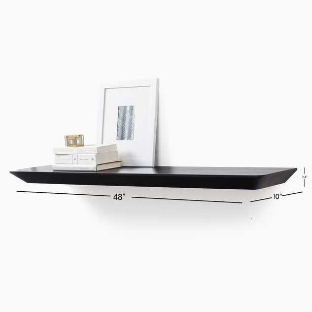 Slim Floating Collection Acorn 4' Shelf - West Elm