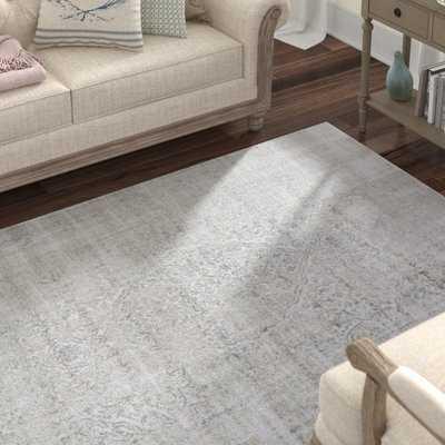 Ismay Ivory/Gray Area Rug - Wayfair