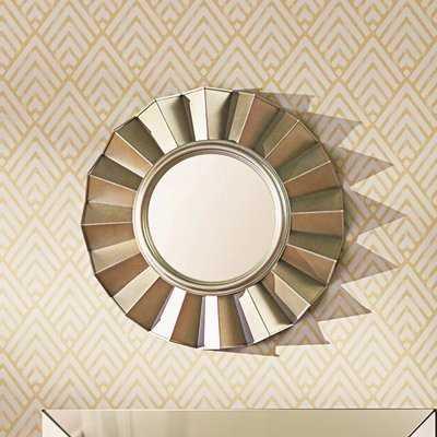 Vertical Round Wall Mirror - Wayfair