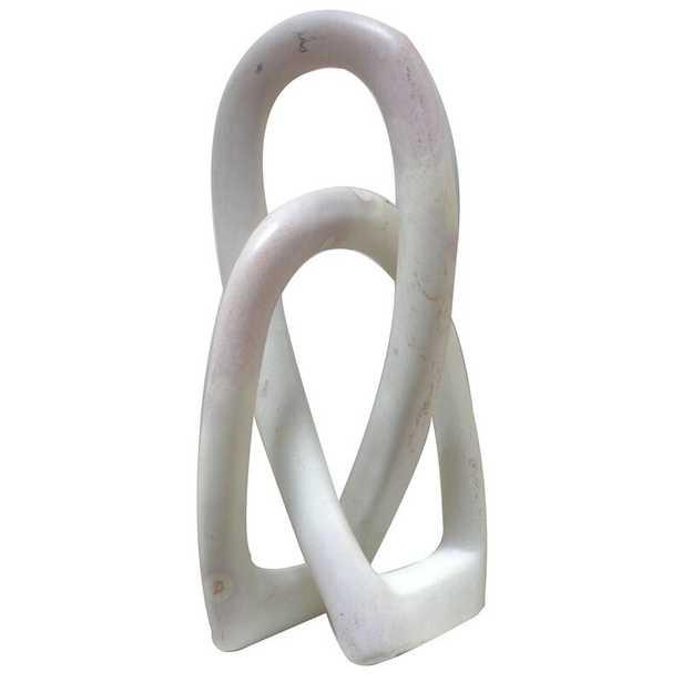 Menke Nzuri - Natural Love Knot Sculpture - Wayfair