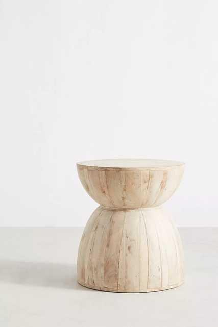 Betania Side Table, Hourglass - Petite - Anthropologie