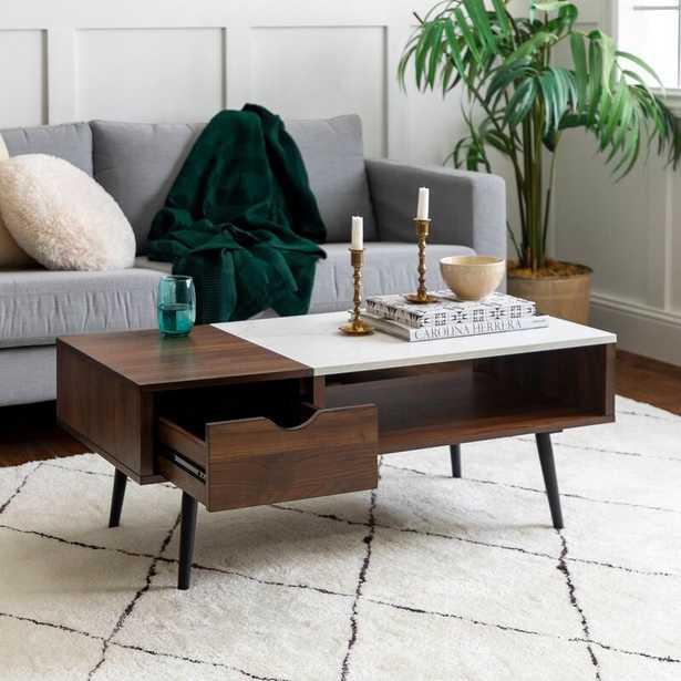 Dorothea Coffee Table with Storage - Wayfair