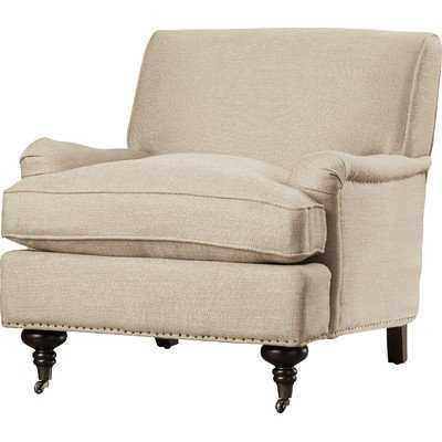 Linen Armchair - Wayfair