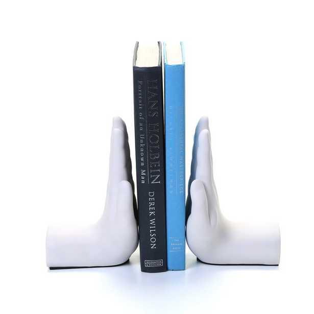 Hand Book End (Set of 2) - Wayfair