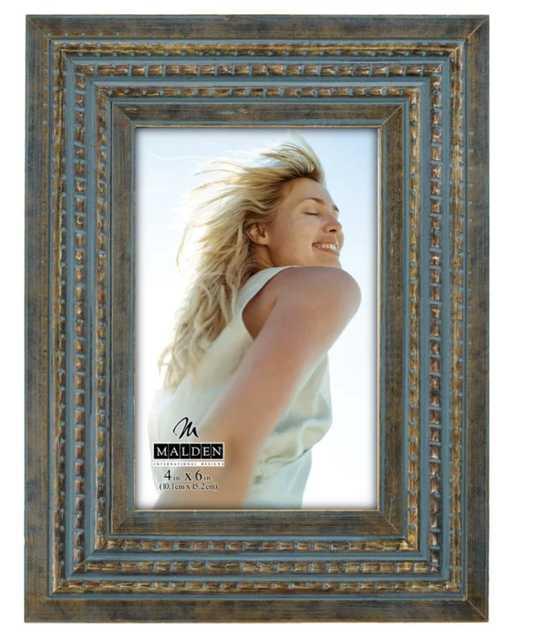 Tomaz Raised Bead Picture Frame - Wayfair