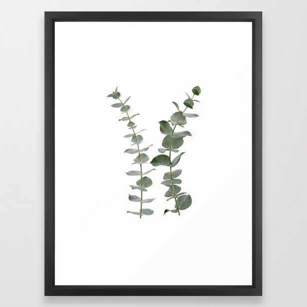 "Eucalyptus Branches I Framed Art Print 20"" x 26"" - Society6"