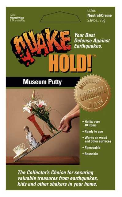 Quakehold Museum Putty - Home Depot
