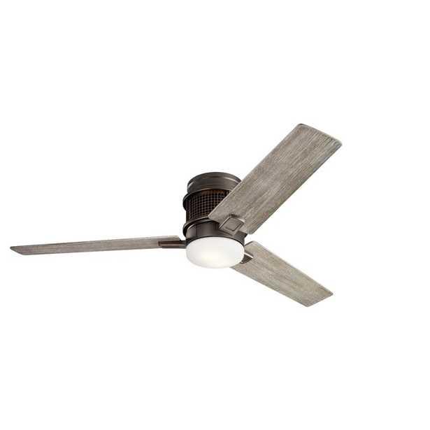 "52"" Acree 3 Blade LED Ceiling Fan, Light Kit Included - Wayfair"