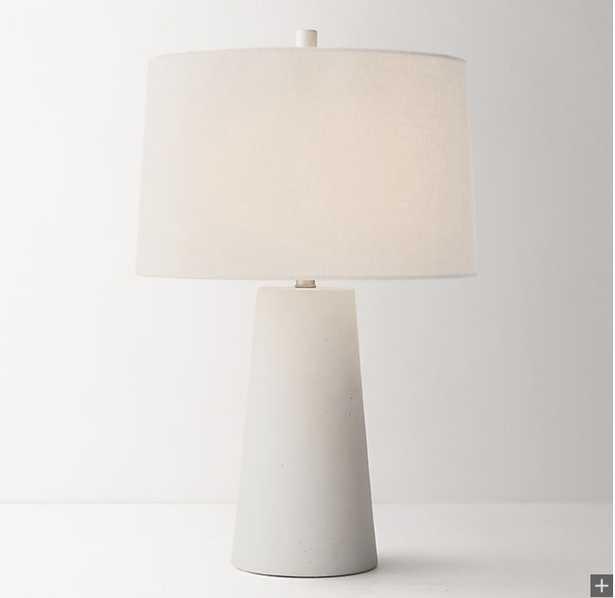 Lawton Table Lamp Base White - RH Teen