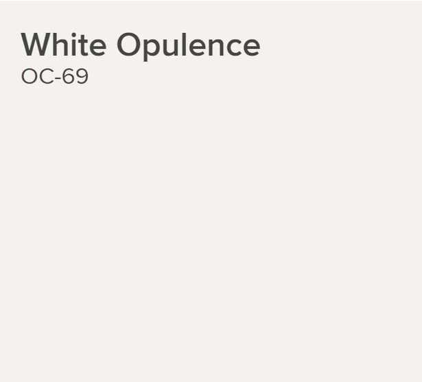 White Opulence ben® Interior Paint - Benjamin Moore