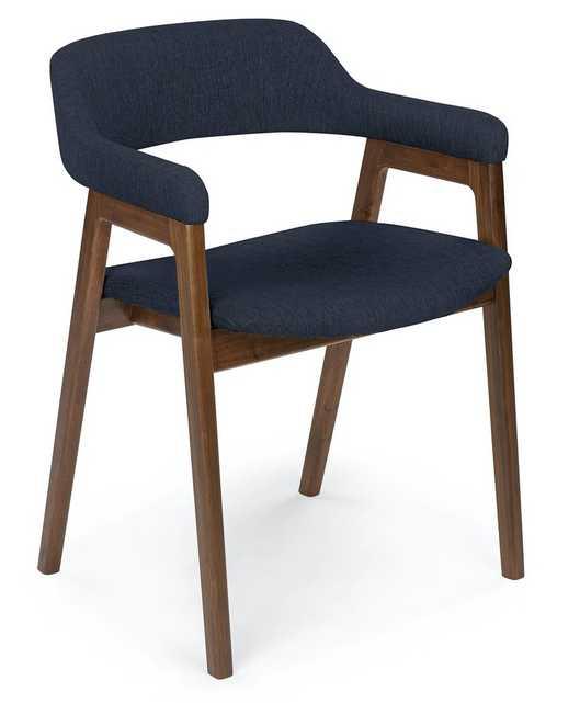 Savis Oceano Blue Dining Chair - Article