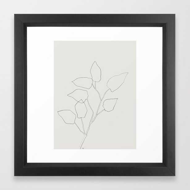 Floral Study no. 5 Framed Art Print - Society6