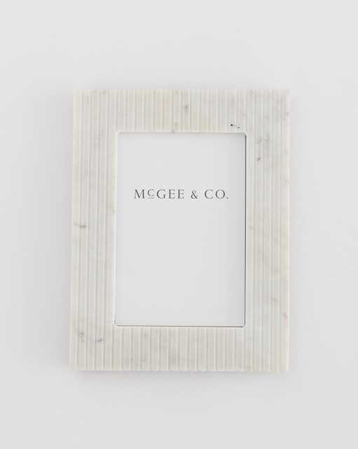 Marble Pinstripe Frame - McGee & Co.