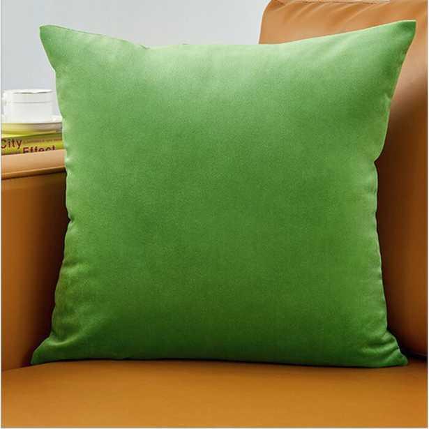 Erla Velvet Throw Pillow (Set of 2) - Wayfair