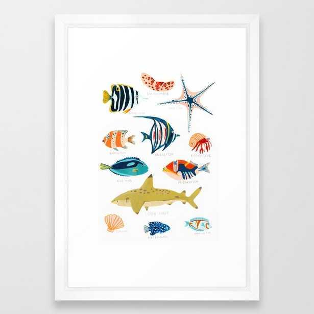 Sea Life of Fiji Framed Art Print - Society6