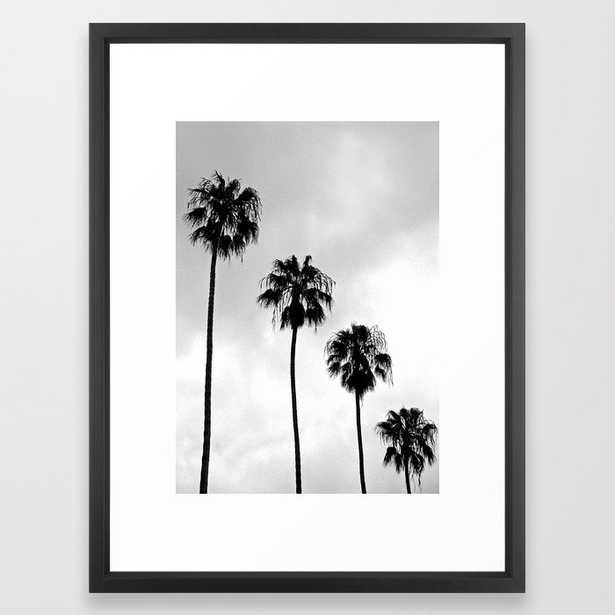 "Tropical Darkroom #67 Framed Art Print - 20x26"" - Vector Black Frame - Society6"