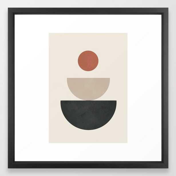 Geometric Modern Art 30 Framed Art Print - Society6
