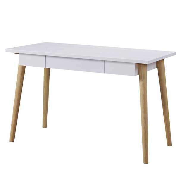 Mcclean Desk, white - Wayfair