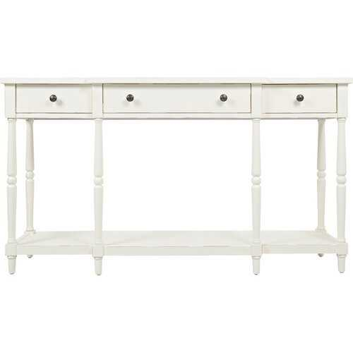 """Lanford 60"""" Solid Wood Console Table - Wayfair"""